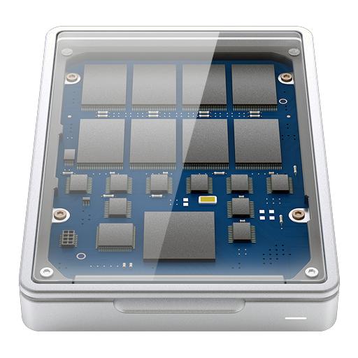 Wygląd wewnętrzny dysku SSD
